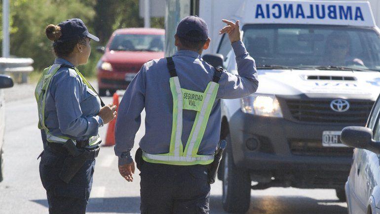 Violento choque en la 151 dejó heridos graves