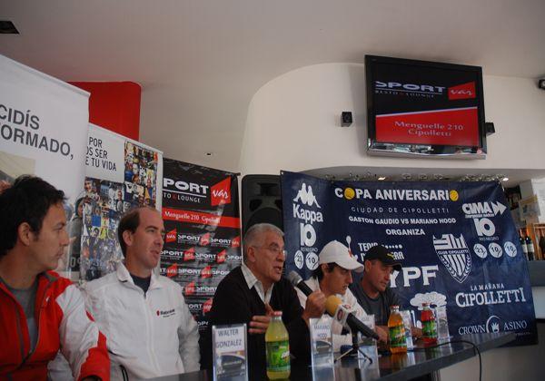 Presentaron la Copa Aniversario Ciudad de Cipolletti de tenis