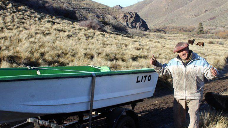 Solidaridad: le entregaron un bote nuevo para llevar alimentos a su hogar