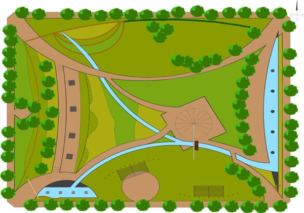Construirán una plaza especialmente diseñada como paseo escultórico