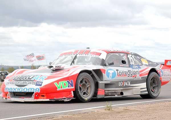 Otro mal paso de Manuel Urcera en el TC Pista