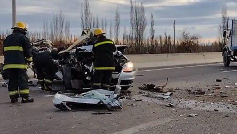 Un muerto en un brutal accidente de tránsito sobre la Ruta Nacional 22
