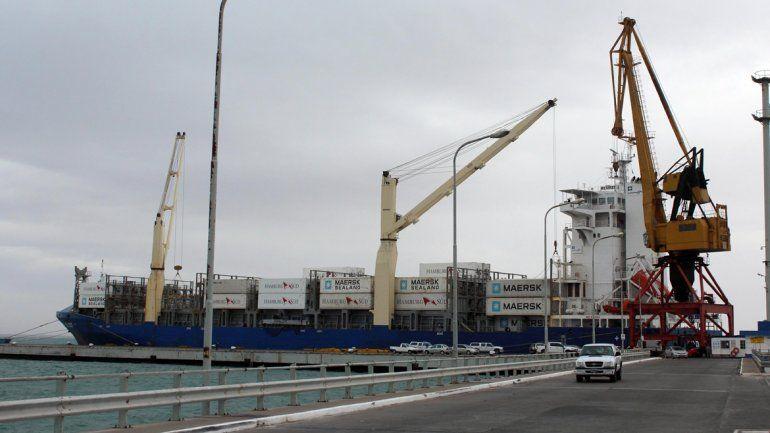 El puerto de SAE registró menos salidas de fruta que en 2016.