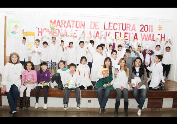 El Maratón de Lectura cautivó a los más chicos