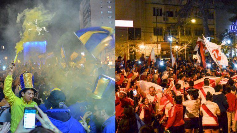 Boca y River alientan la #Superfinal en las redes sociales