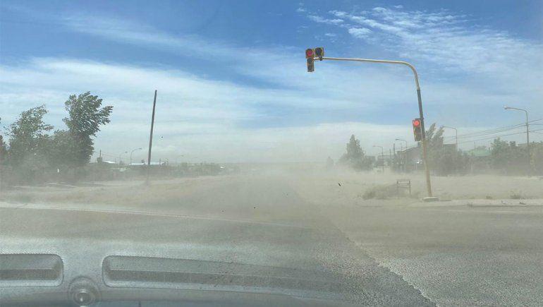 Alerta meteorológico por fuerte viento en el Alto Valle