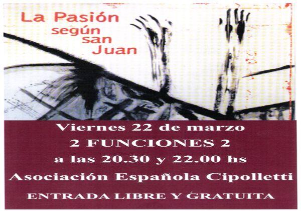 Cantata: La Pasión según San Juan