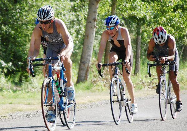 Los triatlonistas locales coparon Mendoza