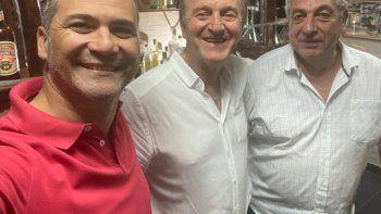 Tortoriello junto al diputado provincial de Juntos por el Cambio, Juan Martín y Vargas.