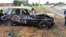 un joven murio en un brutal accidente sobre la ruta 69