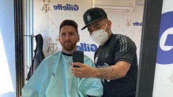 Messi: gran gesto, nuevo look y figura del lujoso 11 que planea Scaloni