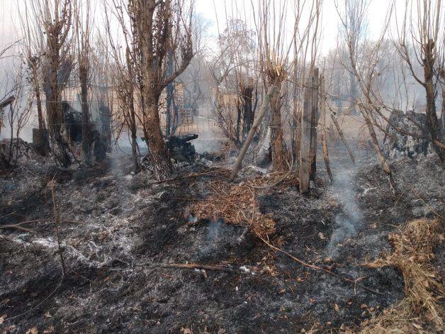 Denunciaron el incendio de una chacra, y presumen que fue intencional
