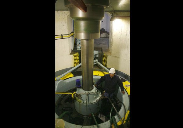 Gracias al poder del agua, Cipolletti produce energía