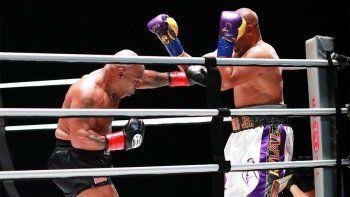 Tyson y Jones se lucieron arriba del ring y quedaron con ganas de más