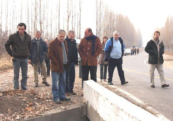 Inauguraron la primera etapa del asfalto rural