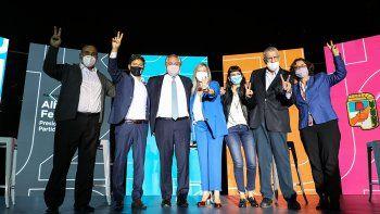 Con Alberto, Cristina y Massa, el Frente de Todos anunció los candidatos