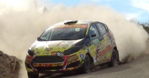 El Ford Fiesta de Martínez fue inalcanzable en Villa Regina.