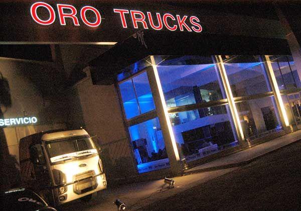 Se inauguró en Cipolletti un nuevo concesionario de camiones Ford