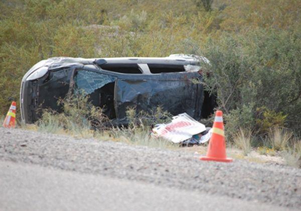 Una cipoleña muerta por un vuelco en San Antonio Oeste