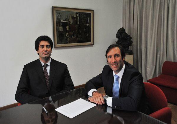 Pichetto se reunió con Lorenzino