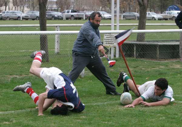 Capacitación arbitral de rugby
