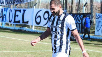 Cristian Taborda, delantero de Cipolletti.