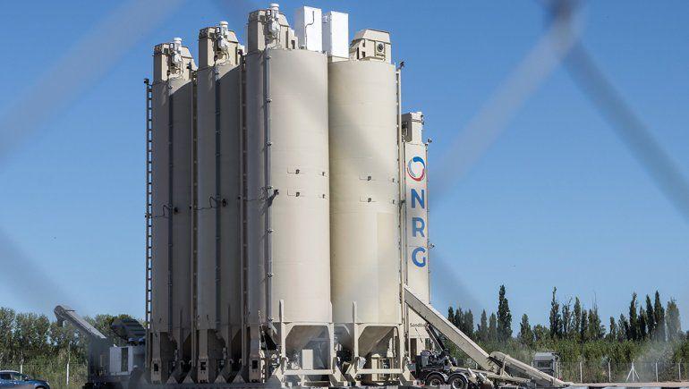 Desde la empresa de arena para fracking aseguran que no hay riesgos