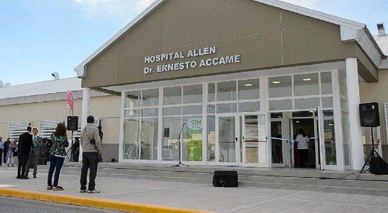 Allen sumó seis camas de UTI al sistema de salud rionegrino