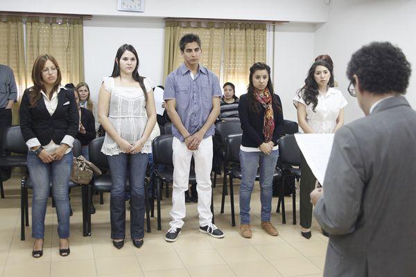 Juran estudiantes de Psicología en el Cuerpo Médico Forense