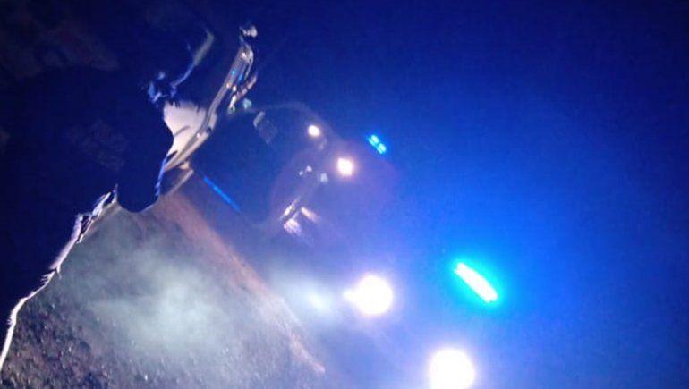 La Policía desarticuló una fiesta en una chacra de Allen