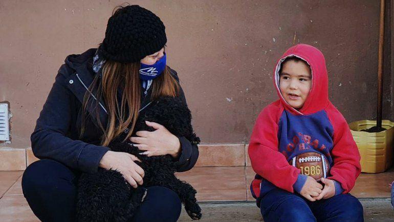 Nandito, el nene de 4 años del norte neuquino que le ganó a un tumor