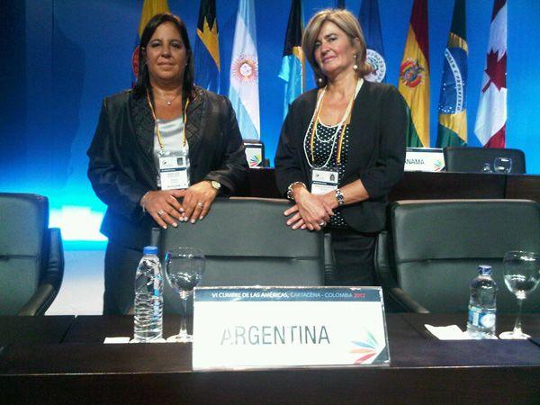 Bongiorno participa de la Cumbre de las Américas