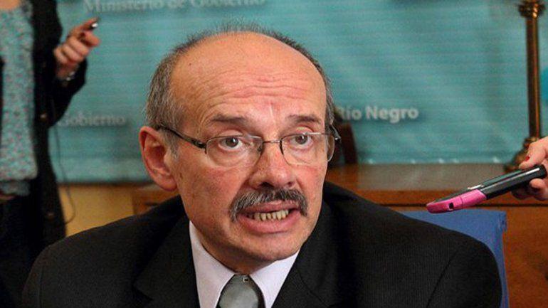 Ministro de Gobierno Luis Di Giácomo