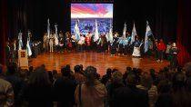 emocion y alegria en el acto por el 118° aniversario de cipolletti