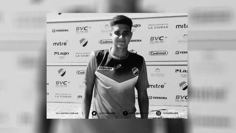 El fútbol llora la muerte de joven jugador neuquino con pasado en Cipo