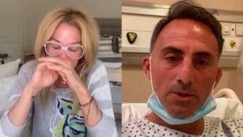 Yanina contra todos por la internación de su esposo: Ignorantes y mediocres