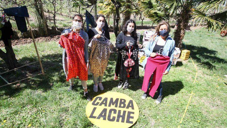 Cambalache: la ropa tiene otra oportunidad para una familia cipoleña