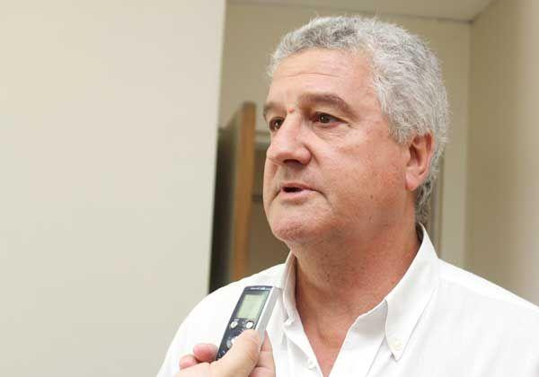 Baratti solicitará a De Vido fondos para obra pluvial
