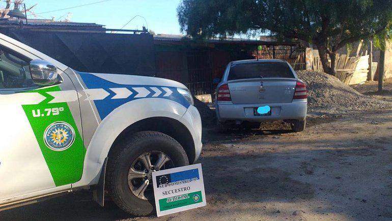 Secuestraron en Allen el auto con el que desvalijaron una casa en Cipolletti