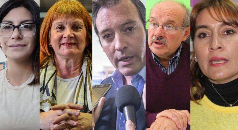 Pese a representar tres partidos políticos distintos, los rionegrinos apoyarán el aborto legal.