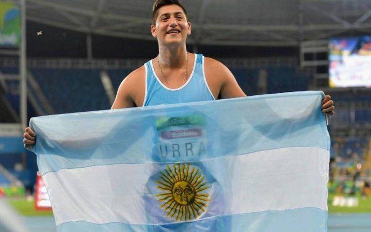 El rionegrino Hernán Urra ganó una medalla en los Juegos Paralímpicos