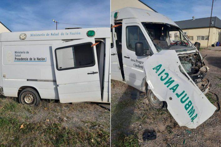 Mirá el estado de dos ambulancias fuera de servicio en plena pandemia