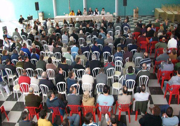 Confirman presencia de funcionarios en asamblea de productores