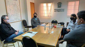 el municipio analiza el proyecto de construccion de viviendas de emergencia