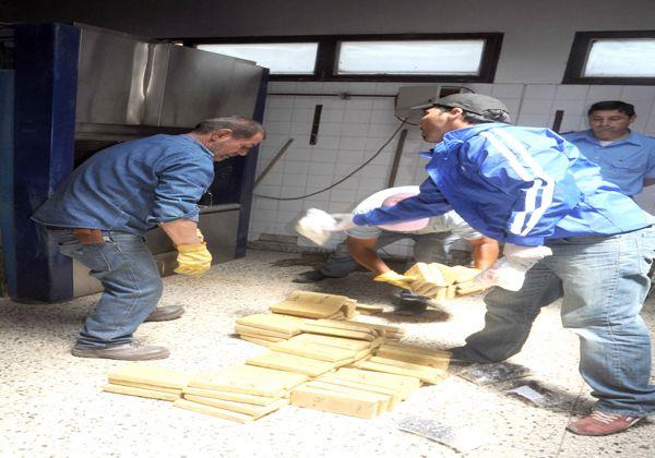 Queman droga incautada en Cipolletti