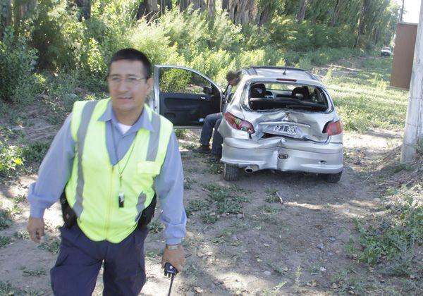 Mañana de accidentes en la ruta 22