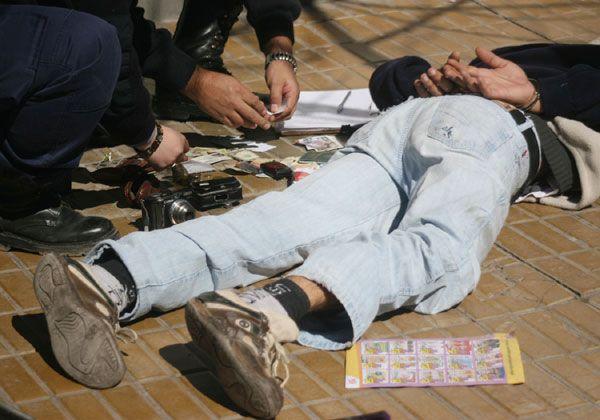 Detenido por asalto a taxista