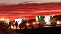 tragedia sobre la ruta 151: tres muertos en un choque frontal