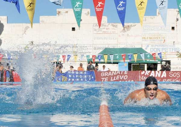 Interprovincial de natación en Neuquén