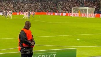 Viral: el seguridad que enloqueció con el penal de Messi